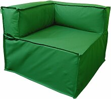 Sitzecke Ebern Designs Farbe: Grün