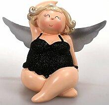 sitzender molliger Engel Schutzengel Molly Figur