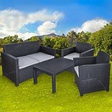 Sitzgarnitur Merano Gartengarnitur Zweisitzer