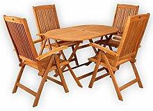 Sitzgruppe Belmont Gartenset Sitzgarnitur Holz