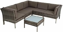 Sitzgruppe Rattan Gartenmöbel Polyrattan Set