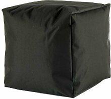 Sitzhocker 39x39cm Sitzwürfel Würfel Sitzsack Sitzkissen Kindersack Kinderwürfel (dunkelgrün)