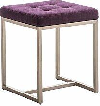 Sitzhocker Barci STOFF lila