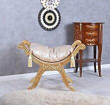 Sitzhocker Barock Hocker Schemel Antik Sitzbank Sitzgondel Ottoman Palazzo Exklusiv
