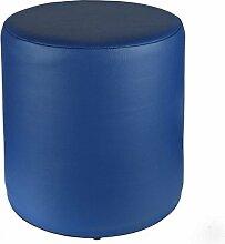 Sitzhocker blau Ø 34 cm x 34 cm