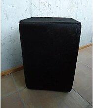 Sitzhocker Kuhfell schwarz 90011sch