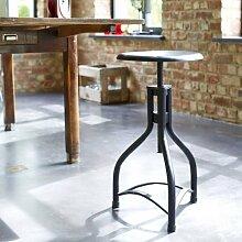 Sitzhocker Stuhl Sitz Metall Industriell Loft Tikamoon Neu Möbel