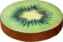 Sitzkissen ''Fruchtscheibe'' Kiwi