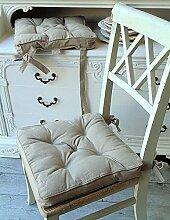 stuhlkissen landhaus g nstig online kaufen lionshome. Black Bedroom Furniture Sets. Home Design Ideas