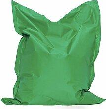 Sitzkissen XXL 160x120 Bag Hellgrün Sitzsack Bodenkissen Kissen Sack In-und Outdoor