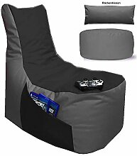 Sitzsack 3er Set Big Gamer Sessel mit EPS Sytropor