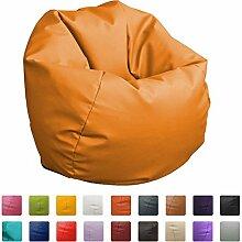 Sitzsack, 60 cm Durchmesser, Orange