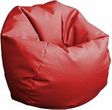 Sitzsack 60cm Durchmesser (rot)