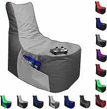 Sitzsack Big Gamer Lounge Ø 80cm Sessel mit EPS