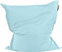 Sitzsack Blau 140 x 180 cm mit Innensack für