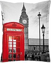 """Sitzsack Bodenkissen Sitzkissen Kissen Sack Tobekissen Sessel """"Mega Bag Motiv I"""" (London)"""