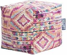 Sitzsack BURSA Cube 40x40x40cm pink (Softfeeling)