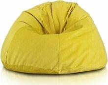 Sitzsack Ebern Designs Farbe: Gelb