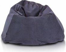 Sitzsack Ebern Designs Farbe: Schwarz