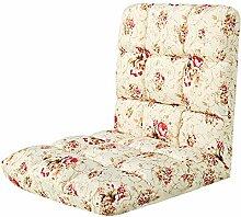 Sitzsack Einzelnes faltbares Sofa-einzelne Schlafsaal-Betten mit Stühlen Sofa-Schemel (Farbe wahlweise freigestellt) ( farbe : A )