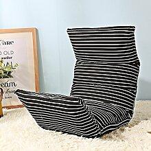 Sitzsack Einzelnes faltbares Sofa-Stuhl Nettes Schlafzimmer mit kreativem Bett-Sofa-Schemel (Farbe wahlweise freigestellt) ( farbe : # 5 )