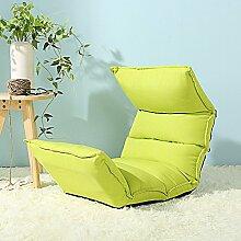 Sitzsack Einzelnes faltbares Sofa-Stuhl Nettes Schlafzimmer mit kreativem Bett-Sofa-Schemel (Farbe wahlweise freigestellt) ( farbe : #1 )