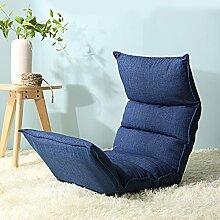 Sitzsack Einzelnes faltbares Sofa-Stuhl Nettes Schlafzimmer mit kreativem Bett-Sofa-Schemel (Farbe wahlweise freigestellt) ( farbe : # 4 )