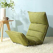 Sitzsack Einzelnes faltbares Sofa-Stuhl Nettes Schlafzimmer mit kreativem Bett-Sofa-Schemel (Farbe wahlweise freigestellt) ( farbe : # 6 )