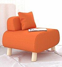 Sitzsack Einzelnes Tuch-Sofa-Hocker-Freizeit-Sofa-Stuhl Einfacher moderner fauler Stuhl-Sofa-Hocker (färben wahlweise freigestellt) ( farbe : F )