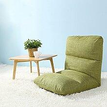 Sitzsack Einzelschlafsaal kann gefaltet werden Sofa-Stuhl Nachttisch Computer-Rückenlehne Sofa Hocker (Farbe optional) ( farbe : #1 , größe : L )