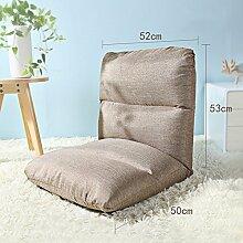 Sitzsack Einzelschlafsaal kann gefaltet werden Sofa-Stuhl Nachttisch Computer-Rückenlehne Sofa Hocker (Farbe optional) ( farbe : # 2 , größe : L )