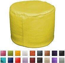 Sitzsack Hocker 50x 50x 45(gelb)