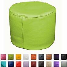 Sitzsack Hocker 50x 50x 45(grün)