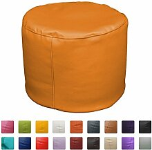 Sitzsack Hocker 50x 50x 45(Orange)