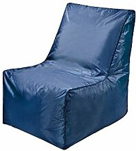 Sitzsack in Blau Sesselform Pharao24