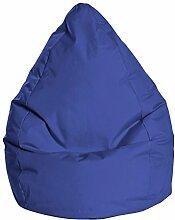 Sitzsack in dunkelblau, Beanbag Brava XL, Füllung aus 100 % EPS-Perlen, 220 l Volumen, Maße: B/H/T ca. 70/110/70 cm