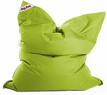 Sitzsack in grün, Big Bag Brava Material 100 % Polyester, PVC-beschichtet, Füllung aus 100 % EPS-Perlen, 380 l Volumen, Maße B/H ca. 130/170 cm