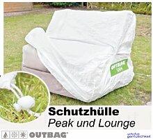 Sitzsack Outbag Schutzhülle Peak / Lounge Stoffart Outbag in weiss