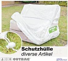 Sitzsack Outbag Schutzhülle Universal Stoffart Outbag in weiss