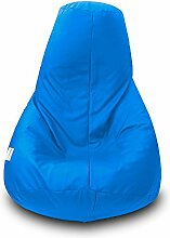 Sitzsack Polyester Wasserdicht XL 90x 135cm (Celeste)