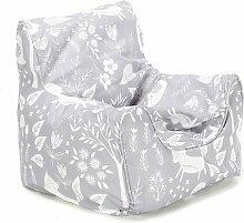 Sitzsack Roomie Kidz Polsterfarbe: Dunkelcreme