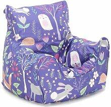 Sitzsack Roomie Kidz Polsterfarbe: Violett