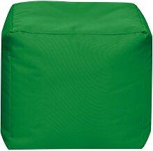 Sitzsack Scuba Cube 40x40x40cm gras (Outdoor)
