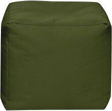 Sitzsack Scuba Cube 40x40x40cm oliv (Outdoor)