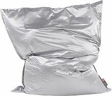 Sitzsack Silber 180 x 230 cm Indoor Outdoor Stark
