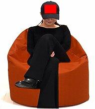 Sitzsack Sitzbag Größe S-M-L-XL-XXL-XXXL mit Styropor Füllung - In & Outdoor - verschiedene Farben & Größen - Bean Bag Sitzkissen Bodenkissen Hocker Kinder Sitzsäcke Möbel Kissen Sessel Sofa (XXXL - ca.88cm, Orange)