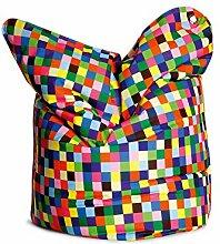 "Sitzsack Sitzkissen Bodenkissen Sitting Bag Relaxkissen Kissen ""Fashion Bull I"" Happy Pixels"