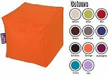 Sitzsack Sitzwürfel Cube Scuba Farbe Rot Pharao24