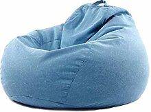 Sitzsack Stuhl Sofa Couch Bezug, Gefüllte Plüsch