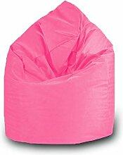Sitzsack Tropfen Polyester Wasserdicht L 70x 110cm (Fuchsia)